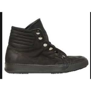 BB BRUNO BORDESE LEATHER SNAP BUTTON SNEAKERS 7